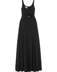 Robe de soirée noire Gucci