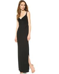 Robe de soirée noire Marc Jacobs