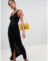 Robe de soirée noire Miss Selfridge