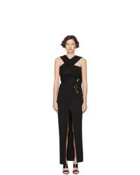 Robe de soirée noire Versace
