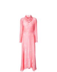 Robe de soirée rose Nina Ricci