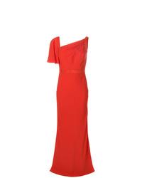 Robe de soirée rouge Alexander McQueen