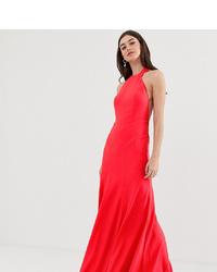 Robe de soirée rouge ASOS DESIGN