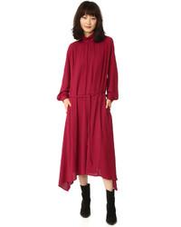 Robe de soirée rouge Golden Goose Deluxe Brand