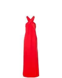 Robe de soirée rouge Lanvin