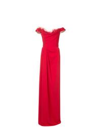Robe de soirée rouge Marchesa Notte