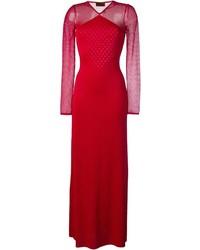 Robe de soirée rouge Missoni