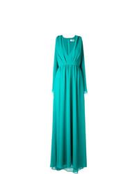 Robe de soirée turquoise MSGM