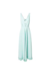 Robe de soirée vert menthe Nina Ricci