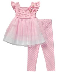 Robe de tulle rose