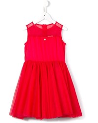 Robe de tulle rouge Armani Junior