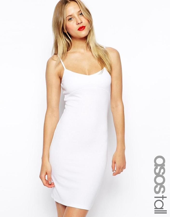 Robe débardeur blanche Asos