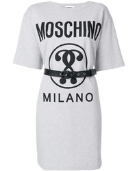 Robe décontractée blanche Moschino