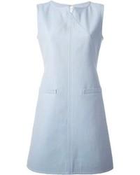 Robe décontractée bleu clair