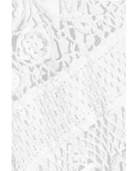7ee0998fee1b9 ... Robe décontractée en crochet blanche Chloé ...