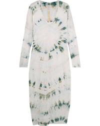 Robe décontractée imprimée blanche