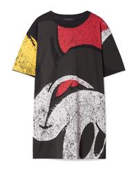 Robe décontractée imprimée noire Marc Jacobs