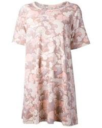 Robe décontractée imprimée rose Marc Jacobs