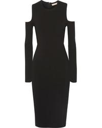 Robe découpée noire Michael Kors