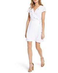 Robe drapée blanche