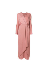 Robe drapée rose Filippa K