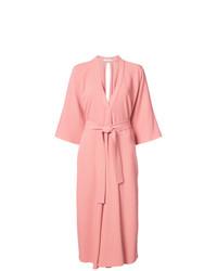 Robe drapée rose Tome