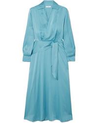 Robe drapée turquoise Equipment