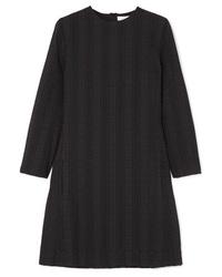 Robe droite à rayures verticales noire Chloé