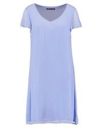 Robe droite bleu clair Expresso