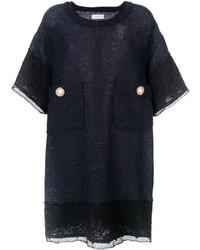 Robe droite bleu marine Faith Connexion
