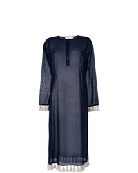 Robe droite bleu marine Tory Burch