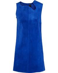 Robe droite bleue Victoria Beckham