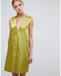 Robe droite chartreuse Asos