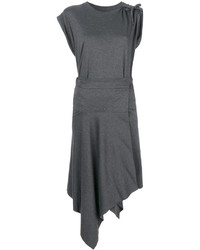 Robe droite gris foncé Isabel Marant