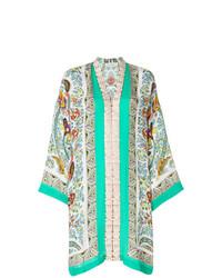 Robe droite imprimée multicolore Etro