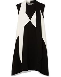 Robe droite noire et blanche Givenchy