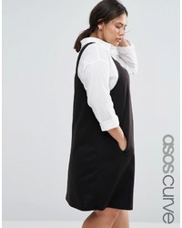 Robe droite noire Asos