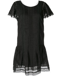 Robe droite noire Diesel