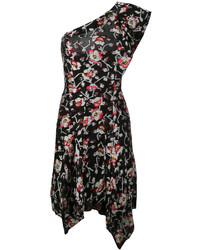 Robe droite noire Isabel Marant