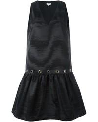 Robe droite noire Kenzo