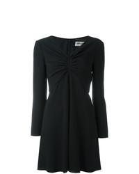 Robe droite noire Saint Laurent