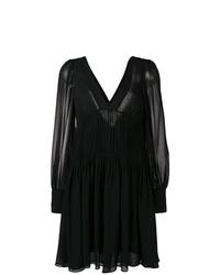 Robe droite noire Stella McCartney