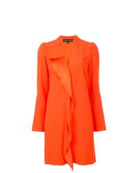 Robe droite orange Proenza Schouler