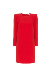 Robe droite rouge Givenchy