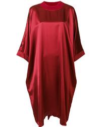 Robe droite rouge Maison Margiela
