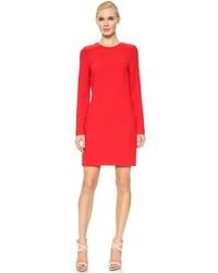 Robe droite rouge Victoria Beckham