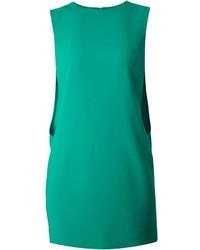 Robe droite verte