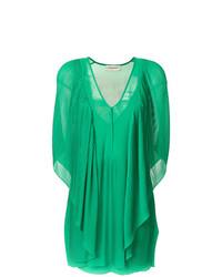 Robe droite verte By Malene Birger
