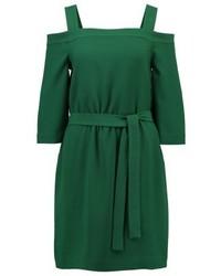 Robe droite verte Designers Remix