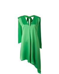 Robe droite verte MSGM